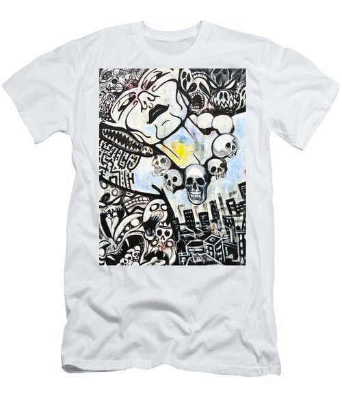 Modern Bride Men's T-Shirt (Slim Fit) by Yelena Tylkina
