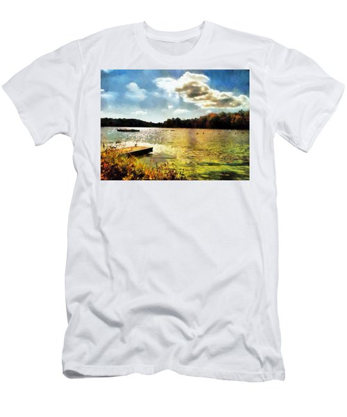 Mohegan Lake Gold Men's T-Shirt (Athletic Fit)