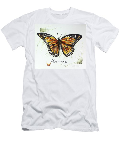Monarchs - Butterfly Men's T-Shirt (Athletic Fit)