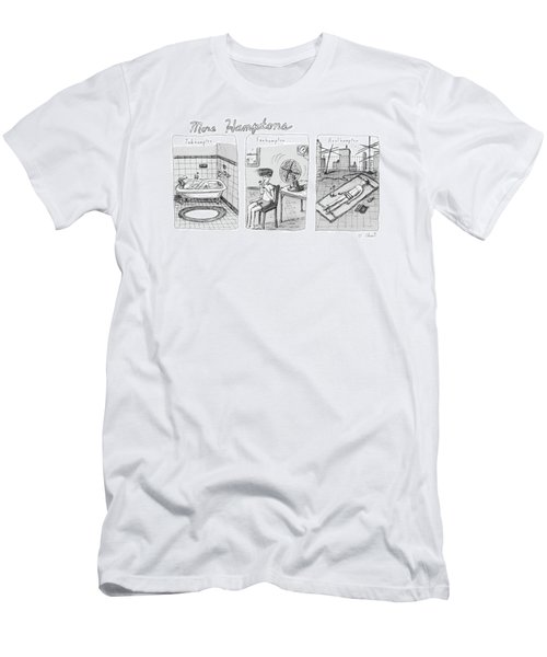 More Hamptons: Men's T-Shirt (Athletic Fit)