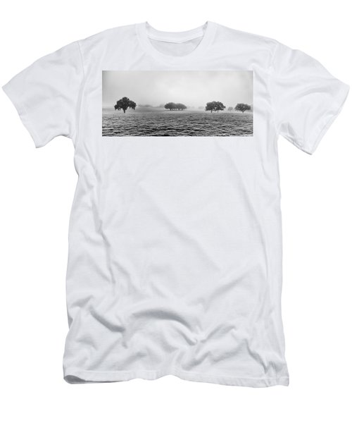 Men's T-Shirt (Athletic Fit) featuring the photograph Morning Fog by Howard Salmon