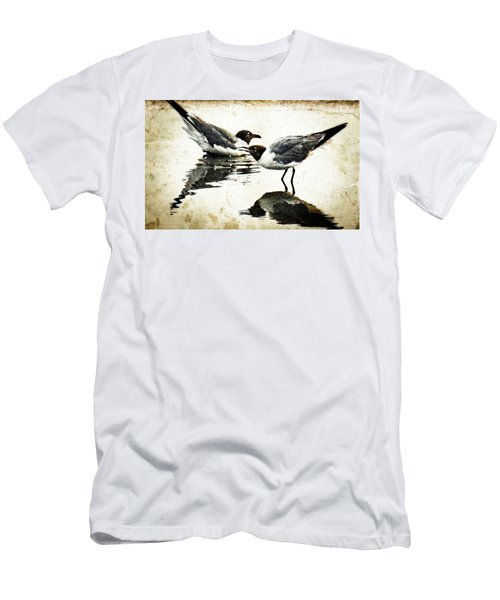 Morning Gulls - Seagull Art By Sharon Cummings Men's T-Shirt (Athletic Fit)