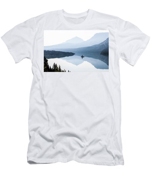 Morning Mist Men's T-Shirt (Slim Fit) by Aaron Aldrich