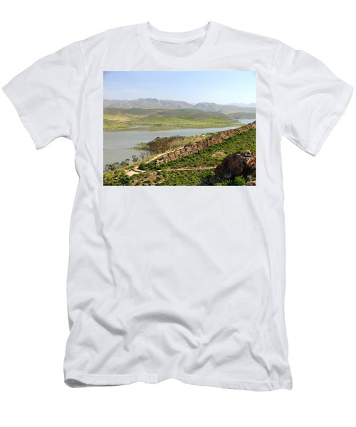 Moroccan Countryside 1 Men's T-Shirt (Athletic Fit)
