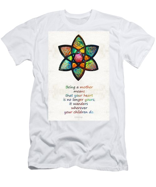 Mother Mom Art - Wandering Heart - By Sharon Cummings Men's T-Shirt (Athletic Fit)
