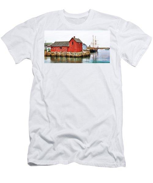 Motif Number 1 Rockport Ma Men's T-Shirt (Athletic Fit)