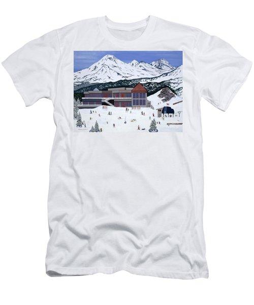 Mount Bachelor Men's T-Shirt (Athletic Fit)