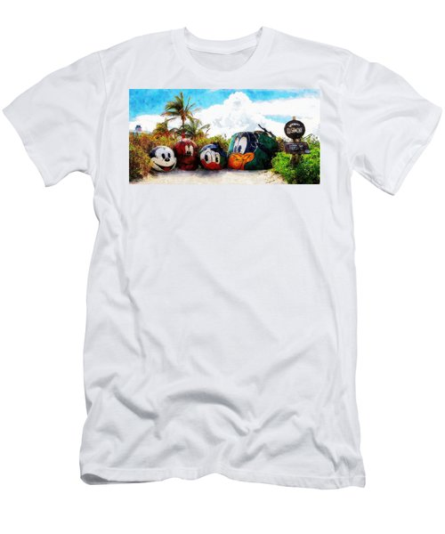 Mount Rustmore Castaway Cay Men's T-Shirt (Athletic Fit)