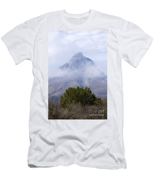 Mountain Cloaked Men's T-Shirt (Athletic Fit)