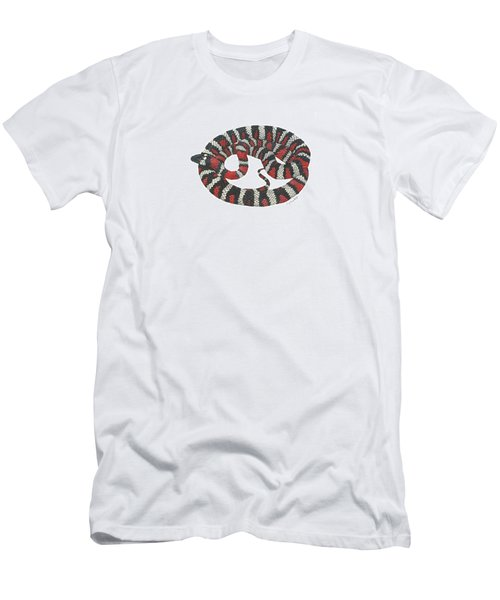 Mountain King Snake Men's T-Shirt (Slim Fit) by Cindy Hitchcock