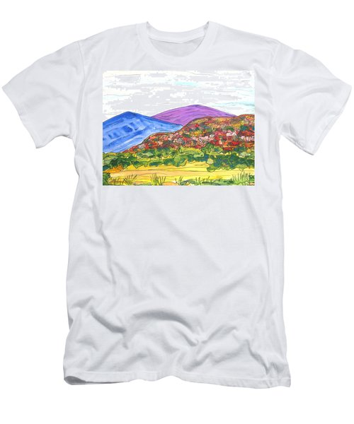 Mountains And South Mesa Men's T-Shirt (Athletic Fit)
