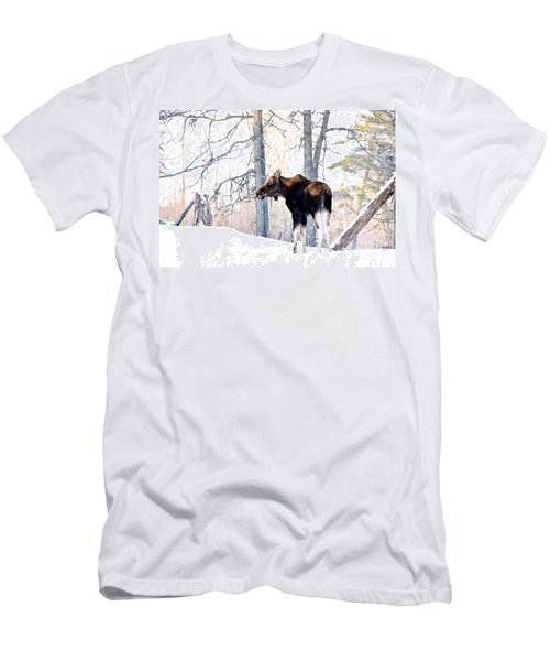 Mr. Moose Men's T-Shirt (Athletic Fit)