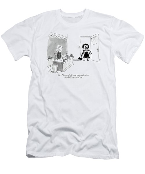Mrs. Hammond  I'd Know You Anywhere From Little Men's T-Shirt (Athletic Fit)