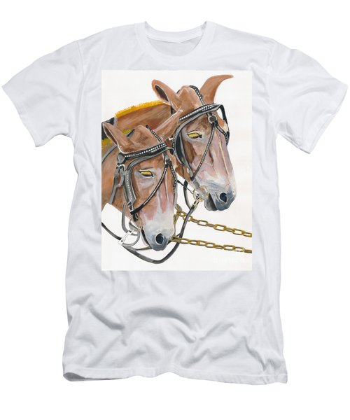 Mules - Two - Beast Of Burden Men's T-Shirt (Athletic Fit)
