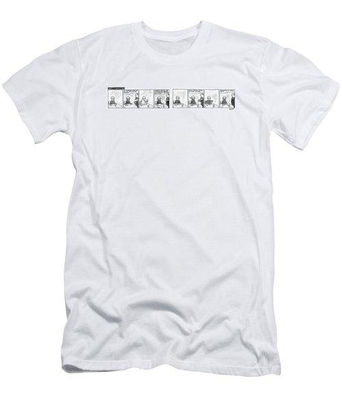 Munch In Manhattan Men's T-Shirt (Athletic Fit)