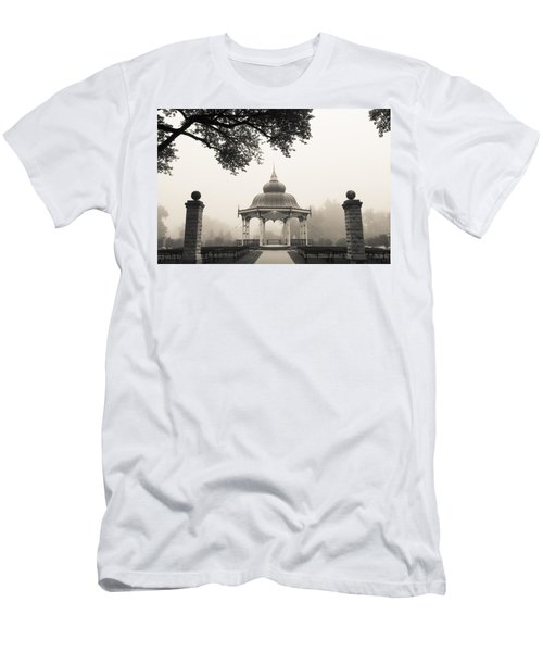 Music Stand In Fog Men's T-Shirt (Athletic Fit)