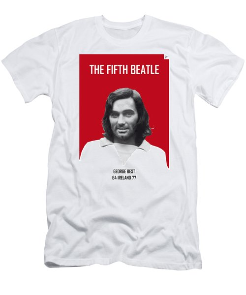 My Best Soccer Legend Poster Men's T-Shirt (Athletic Fit)