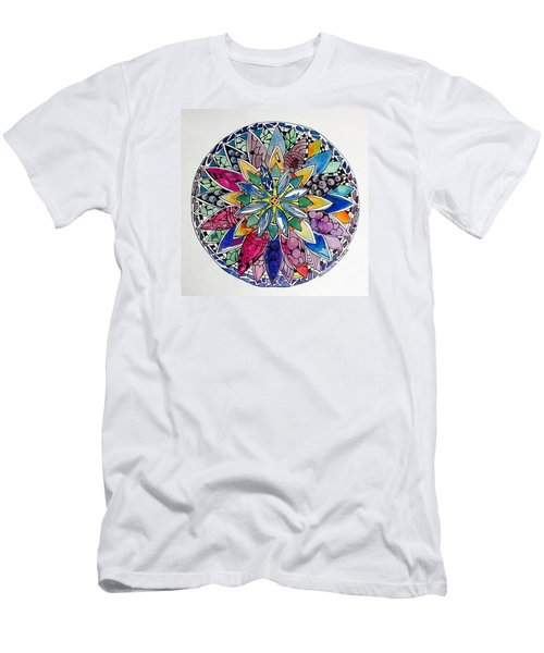 Spring Mandala Men's T-Shirt (Athletic Fit)