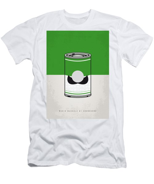 My Mario Warhols Minimal Can Poster-luigi Men's T-Shirt (Athletic Fit)