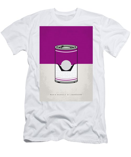 My Mario Warhols Minimal Can Poster-waluigi Men's T-Shirt (Athletic Fit)
