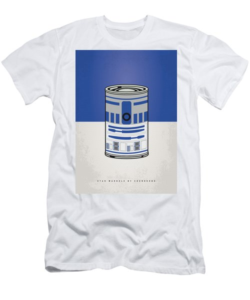 My Star Warhols R2d2 Minimal Can Poster Men's T-Shirt (Athletic Fit)