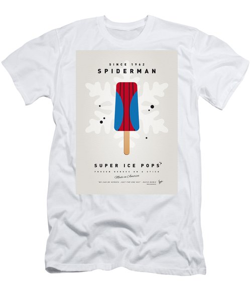 My Superhero Ice Pop - Spiderman Men's T-Shirt (Athletic Fit)