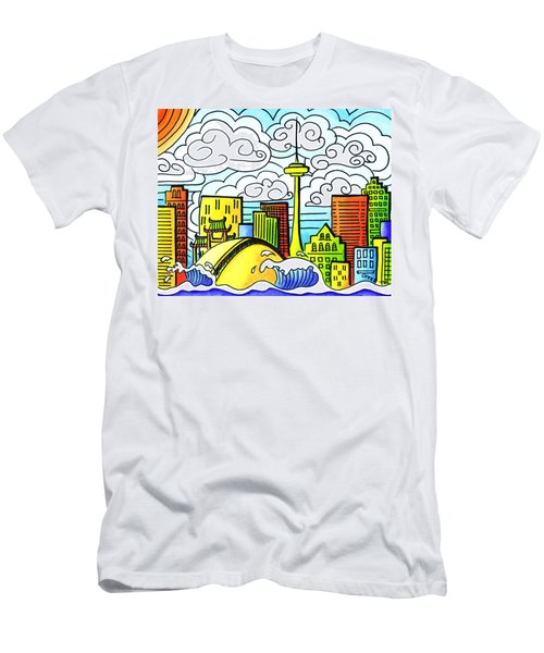 My Toronto Men's T-Shirt (Slim Fit) by Oiyee At Oystudio