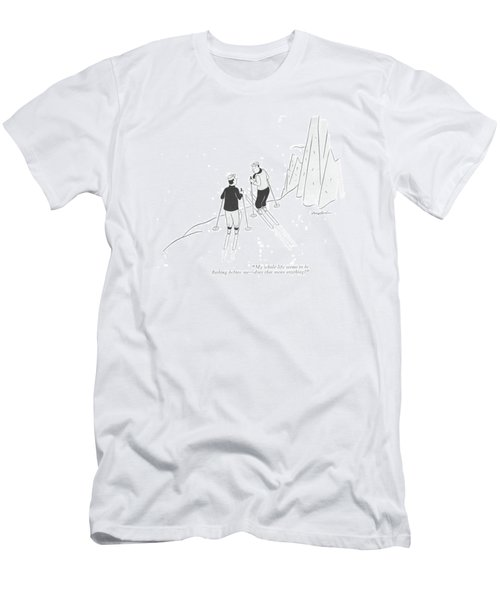 My Whole Life Seems To Be ?ashing Before Me - Men's T-Shirt (Athletic Fit)