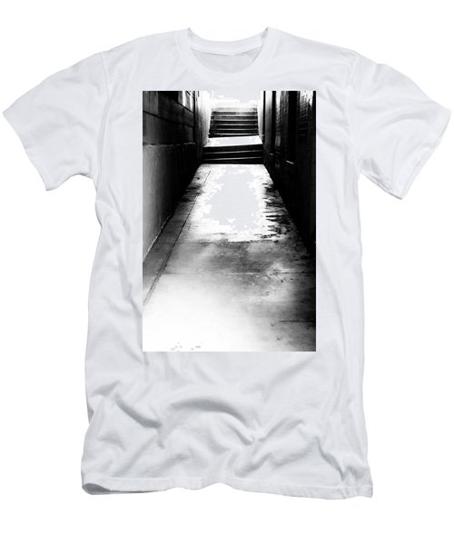 Mysterious Walkway Men's T-Shirt (Slim Fit) by Shelby  Young