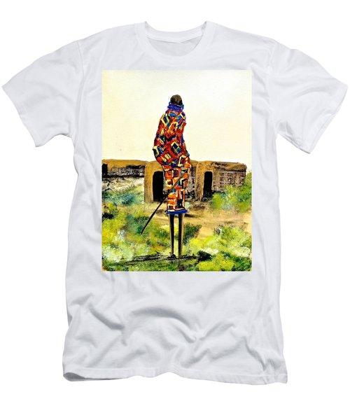 N 27 Men's T-Shirt (Athletic Fit)