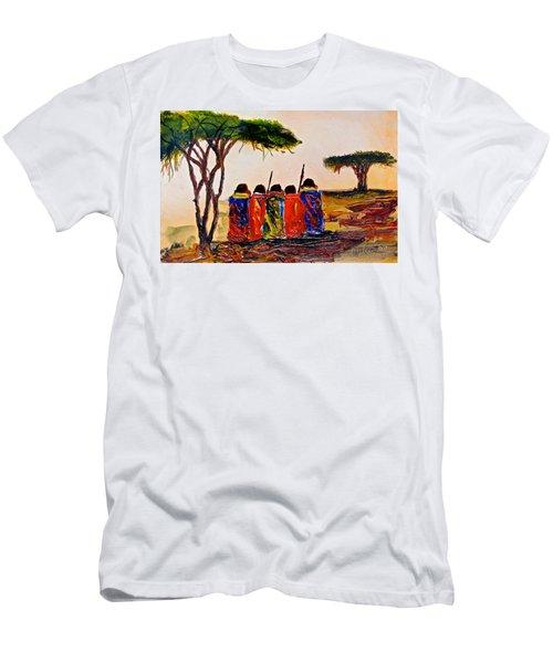 N 38 Men's T-Shirt (Athletic Fit)