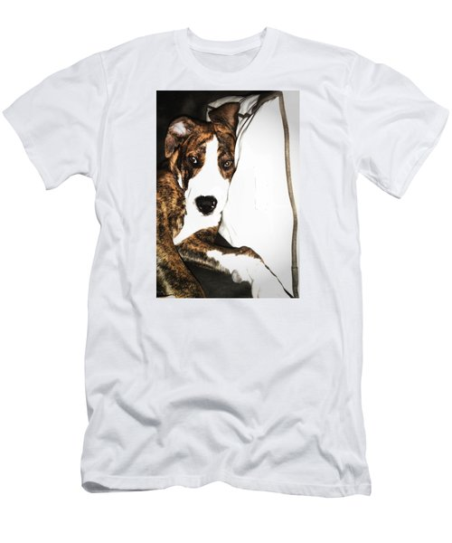 Men's T-Shirt (Slim Fit) featuring the photograph Nap Time by Robert McCubbin