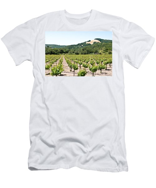 Napa Vineyard With Hills Men's T-Shirt (Athletic Fit)
