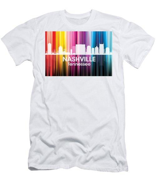 Nashville Tn 2 Men's T-Shirt (Athletic Fit)