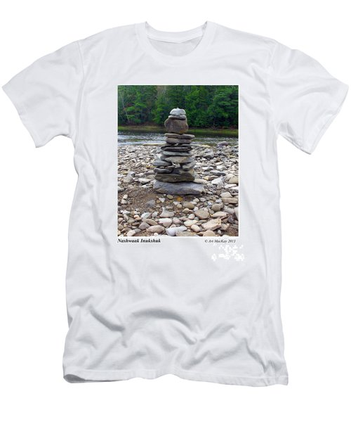 Nashwaak Inukshuk Men's T-Shirt (Athletic Fit)