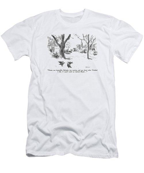 Nassau Was Impossible Men's T-Shirt (Athletic Fit)