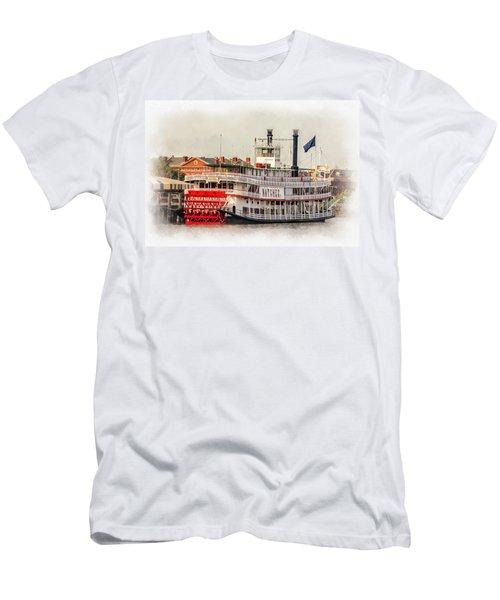 Natchez Sternwheeler Paint Men's T-Shirt (Athletic Fit)