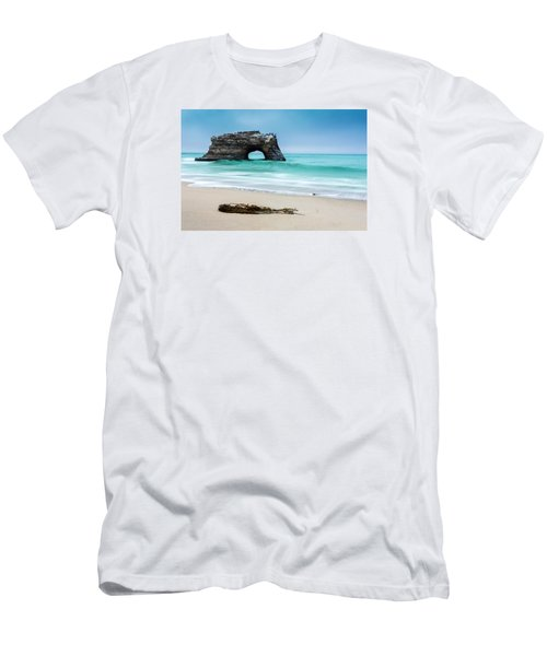 Natural Bridges Men's T-Shirt (Slim Fit) by Tassanee Angiolillo