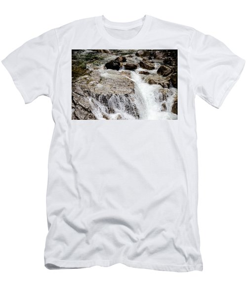 Backroad Waterfall Men's T-Shirt (Athletic Fit)