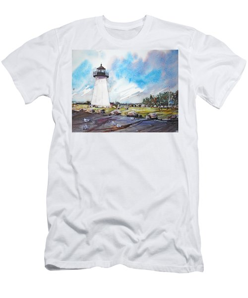 Ned's Point Light Men's T-Shirt (Athletic Fit)