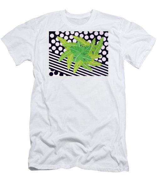 Negative Green Men's T-Shirt (Slim Fit) by Thomas Gronowski