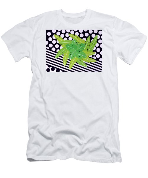 Negative Green Men's T-Shirt (Athletic Fit)