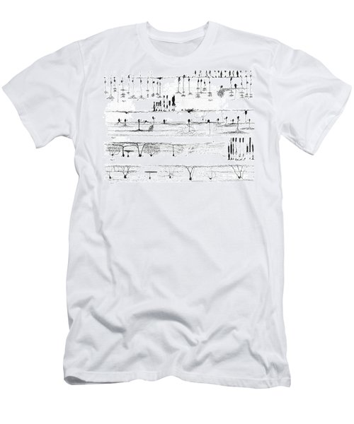 Nerve Structure Of The Retina Men's T-Shirt (Athletic Fit)