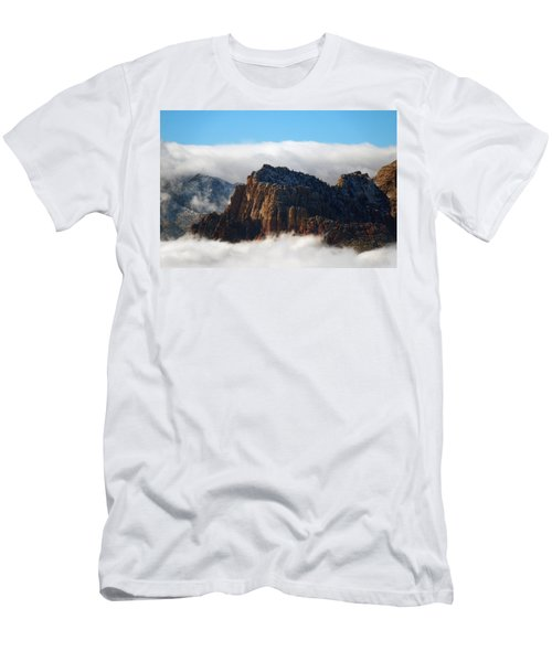 Nestled In The Clouds Men's T-Shirt (Athletic Fit)