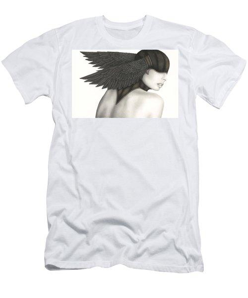 Nevermore Men's T-Shirt (Slim Fit) by Pat Erickson