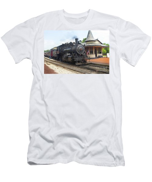 New Hope Station Men's T-Shirt (Slim Fit) by Paul W Faust -  Impressions of Light