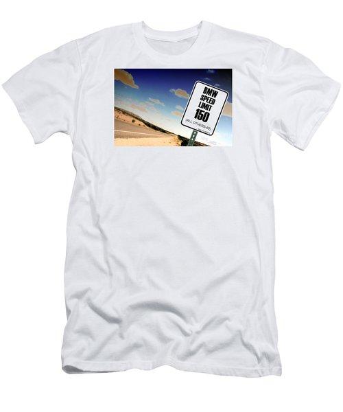 New Limits  Men's T-Shirt (Slim Fit) by David Jackson