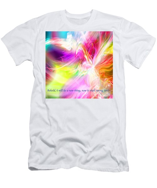 New Thing Men's T-Shirt (Slim Fit) by Margie Chapman