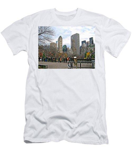 New York Series 01 Men's T-Shirt (Athletic Fit)