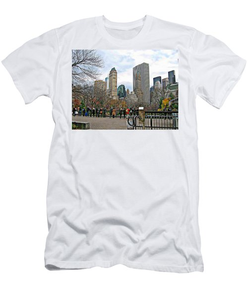 New York Series 01 Men's T-Shirt (Athletic Fit)